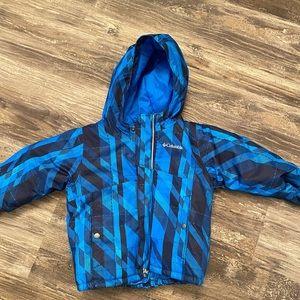 Children's Columbia size 3T Omni- heat coat
